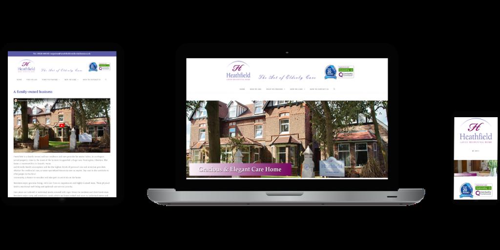vision 4 dreams, website, project, work, complete, seo, heathfield, care, home